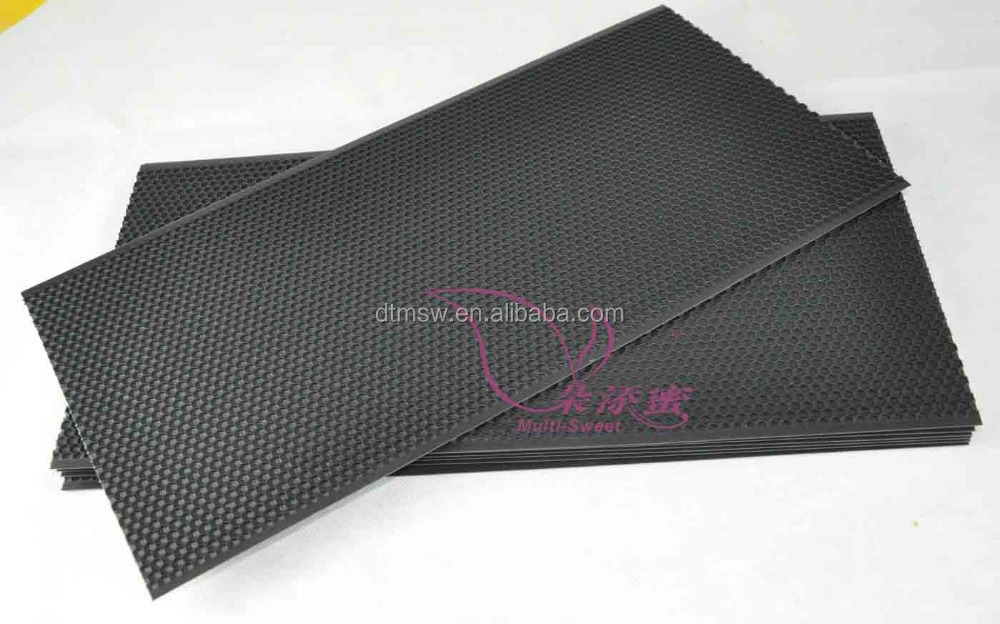 beekeeping tool black plastic honeycomb foundation