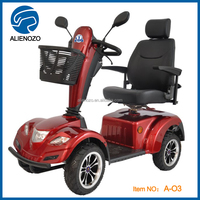 New 4 wheel electric scooter handicapped scooter, cheap outdoor handicapped vehicle electric tricycle mobility scooter