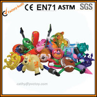 cute funny inflatable animal toys, animals shape inflate toys