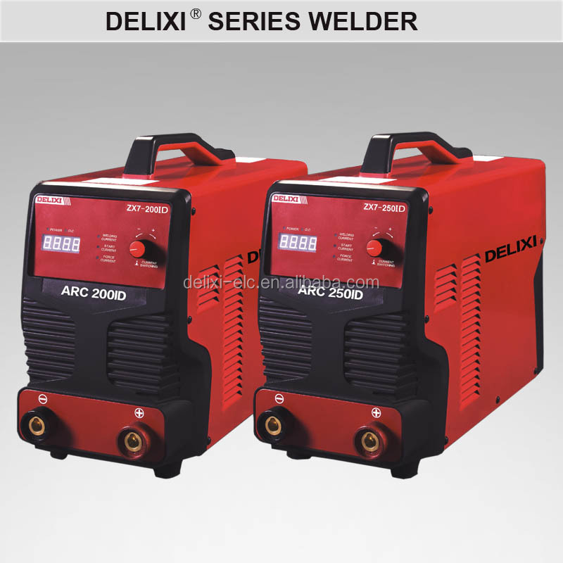 Hot sale manual metal dc mma inverter small portable arc 200 hf manual welding machine
