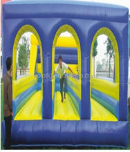 China popular inflatable bouncers, adults inflatable bouncy castle, inflatable bungee run