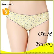Custom low rise breathable cotton thongs for male
