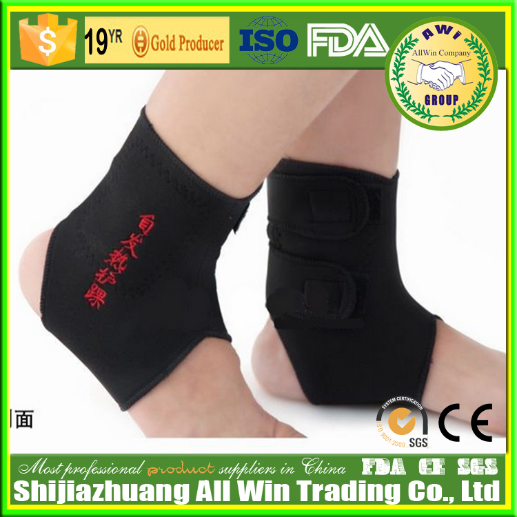 AWI-C14 Foot Compression Sleeves - Toeless Socks for Heel Arch & Ankle Braces Support for Relieves Pain of Plantar