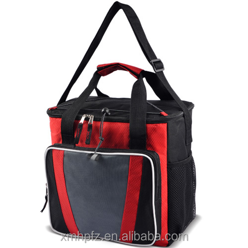 Disposable insulated insulated lunch cooler bag zero degrees inner cool