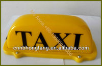 DC 12V magnetic yellow taxi box