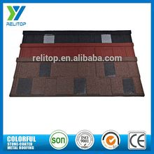 High Temperature Resistance Aluminium Zinc Stone Chip Coated Low Cost Roof Tiles