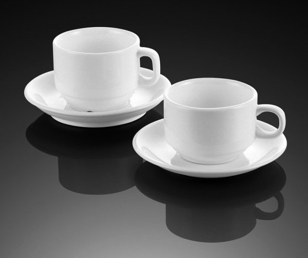 175cc 175ml cups and saucers set