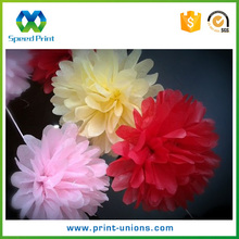 Whoelsale lower price fresh flower wrapping paper with high quality