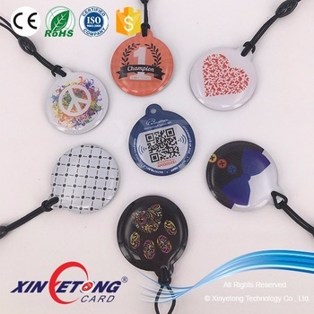 13.56mhz high quality writable rfid epoxy tag Read By NFC Mobile