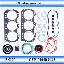 For EK100 car parts engine gasket set overhaul full set gasket kit