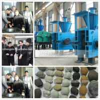 Latest technology charcoal briquette making machine press ball machine