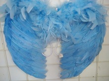 handmade feather angel wings / cheap angel wings