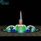 30m Round shape colorful outdoor large water dancing music fountain design