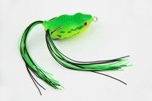 2015 weihai ILURE new style fishing lures soft frog bait 40mm 6.5g life-like