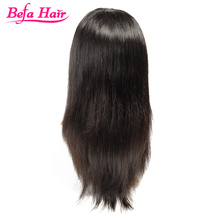 good quality straight brown color cheap lace front wig with baby hair