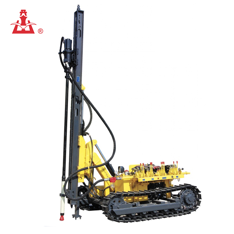 KAISHAN Brand KG910A Crawler Hydraulic Rock Drill for Stone Quarry Plant/Mini Rotary Drilling Rig
