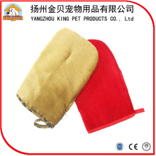 China supplier best seling fashionable customized soft design pet glove massage for dogs washing and bathing