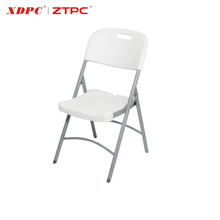 Compact Low Price Plastic Folding Chair Factory