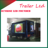 dot matrix full color high quality outdoor mobile truck mountde led display