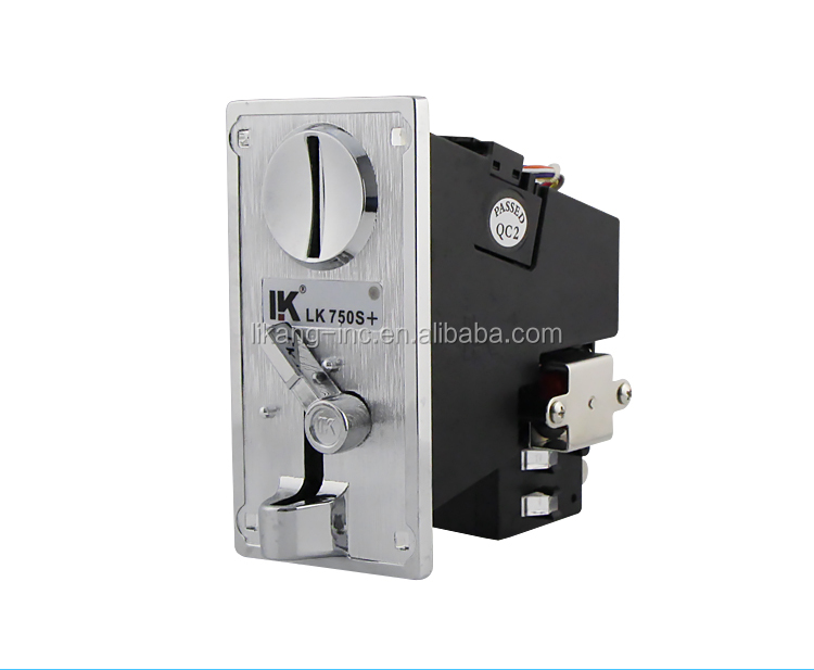 LK750S+ Higher recognition rate coin acceptor arduino for play free game car racing