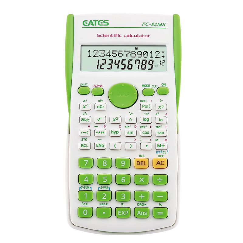 OEM popular design  2-line Scientific calculator with 240 function FC-82MS