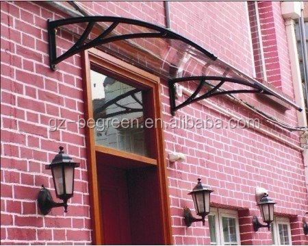 Glasvordach terrasse