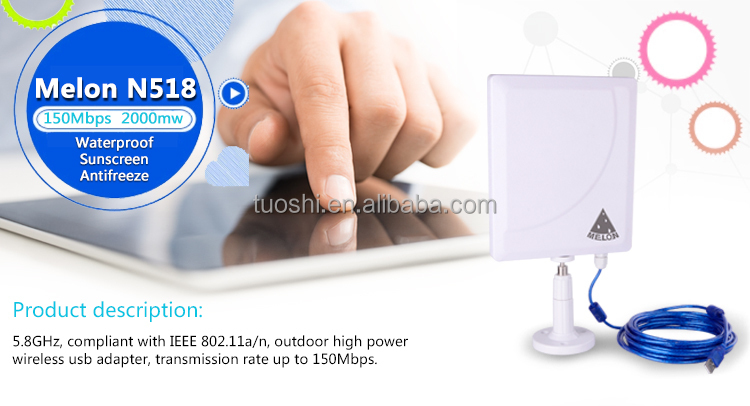 High standard and reliable wireless Internet connection,wireless usb network card,MELON N518