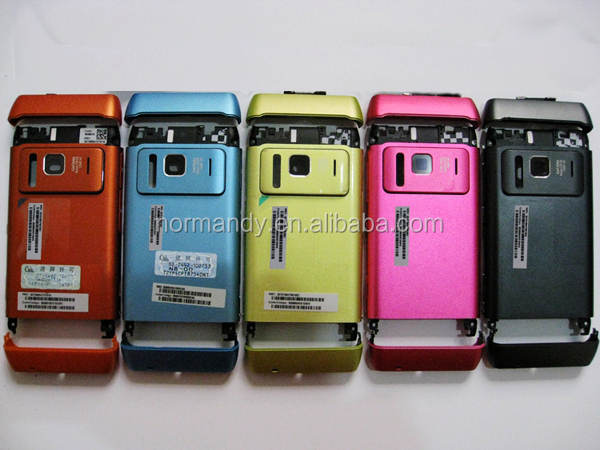 for nokia N8-00 full housing N8 with keypad lens face cover battery door cell phone housing