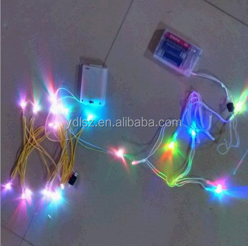 LED flashing sound chip box for shoes,dolls,gift bag,flashing toy
