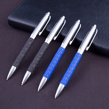 Hot selling ballpoint pen production line,leather gift pen