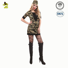 Adult's Army police uniform Costume Halloween Sexy home military costume