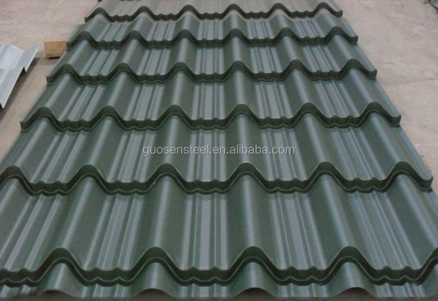 corrugated steel sheet/ corrugated iron sheet/ corrugated metal roofing sheet