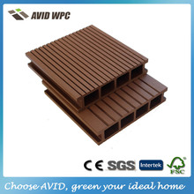 2017 New tech composite crack-resistant wpc decking boards for sale