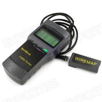 digital network cable 5e 6e coaxial telephone line wire length tester backlight