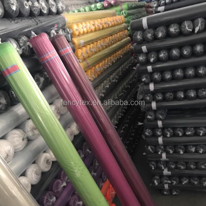 wholesale 190t 210t Taffeta factory China manufacturer polyester taffeta lining fabric textile