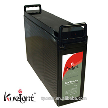 Solar gel battery 12V 180AH front terminal batteries for UPS, telecom and solar power storage