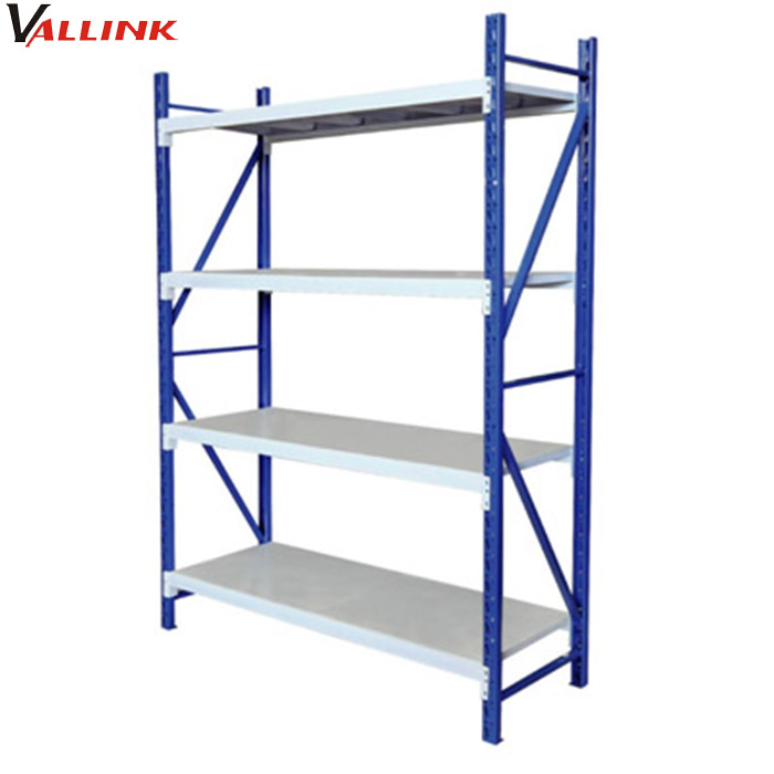 stockroom strong steel long span shelving