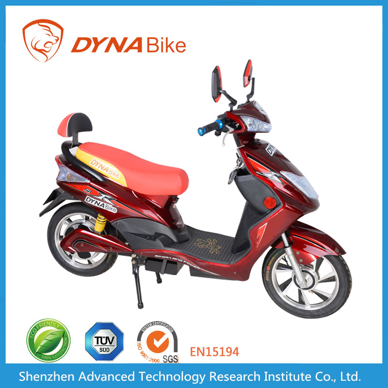 DYNABike Hot Sale CE EEC TUV Approved Tubed Tyre Electric Chinese Moped Prices in China