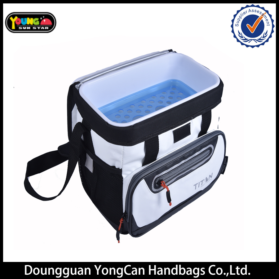 alibaba Guangzhou Custom High quality 600D small insulate cooler Bag