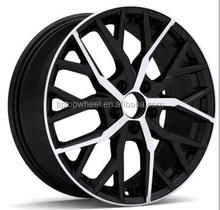 TIPTOP factory alloy wheel PCD 100 108 112 114.3 car rims 14-17 inch llantas rines aftermarket design