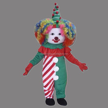 Halloween Clown Comic Mascot Costume Fancy Dress Adult Size Carnival Outfit