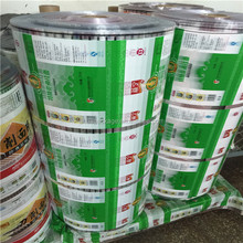 Food grade plastic film roll/Instand noodle packaging film wholesale