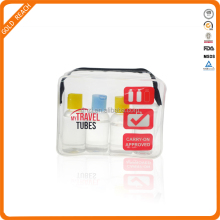 Foldable Toiletry Bag, Travel Toiletry bag, Clear Cosmetic bag