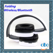 high quality bulk christmas gifts foldable bluetooth headphone