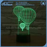 FS-2945 3d magic lamp led mood light ball bedroom decoration for gifts