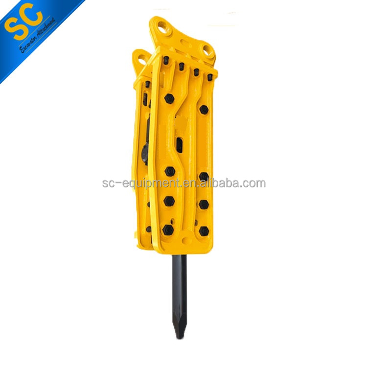 mini hydraulic rock breaker for excavator PC30