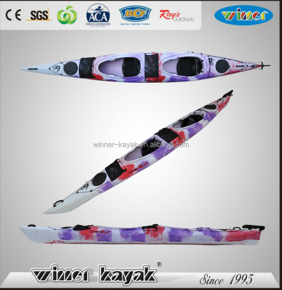 china plastic boat roto mold kayak for sale
