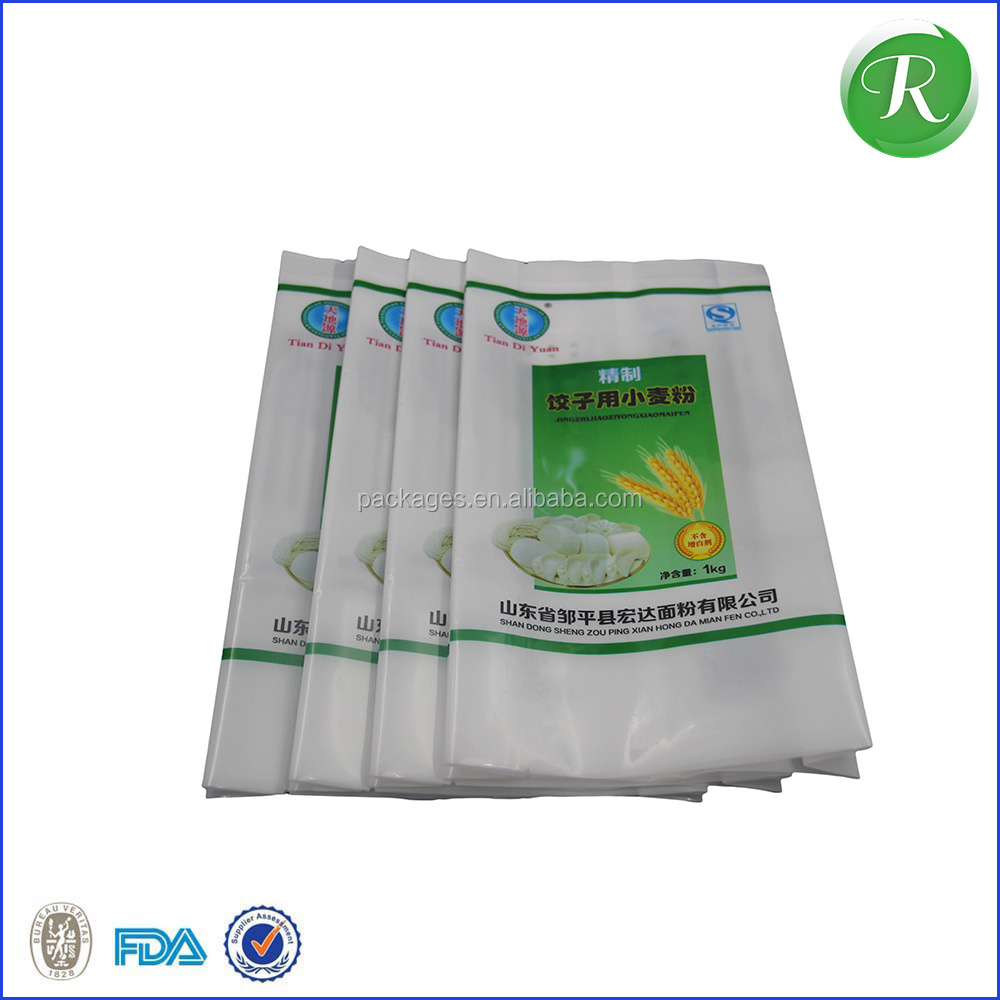 China PP Woven Bag/Sack for50kg cement,flour,rice,fertilizer,food,feed,sand