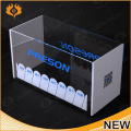 fashion design custom acrylic display case,clear acrylic shoe display case