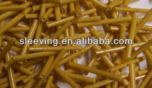 PSG Fiberglass braid sleeving coated Polyurthane